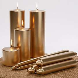 Bronze/Aluminum Powder for Candle Surface Painting
